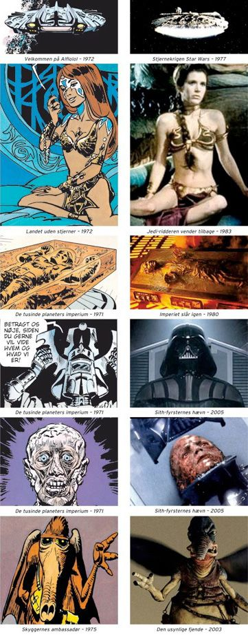 Star Wars inspired by Valérian et Laureline.   :-o  My whole life is a LIE!! > . <