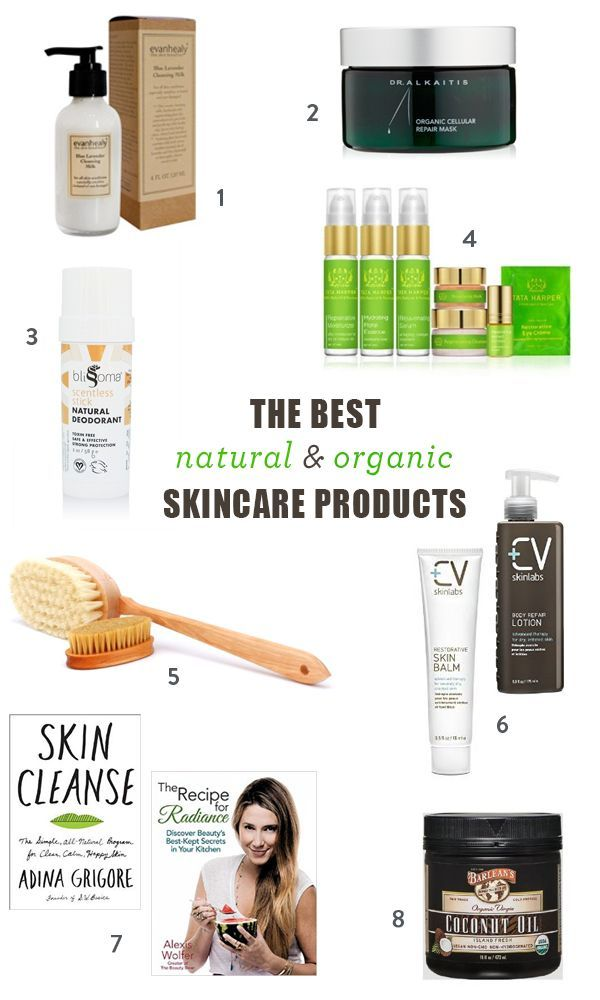 The Best Organic Skincare Brands and Natural Products For the Face and Body | Green Beauty, All Natural Cosmetics
