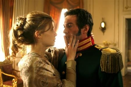 "Clémence Poésy, Alessio Boni in ""War and Peace"" (2007)"
