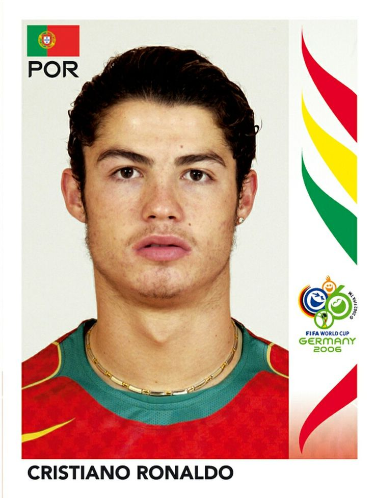 298 Cristiano Ronaldo - Portugal - FIFA World Cup Germany 2006