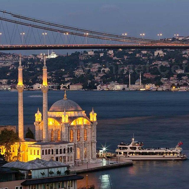 ✿ ❤ Bosphorus..Büyük Mecidiye Camii diğer adıyla Ortaköy Camii...Beşiktaş, Ortaköy - Istanbul