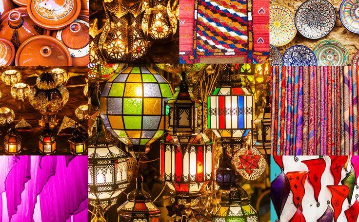 Marokkaanse kleuren