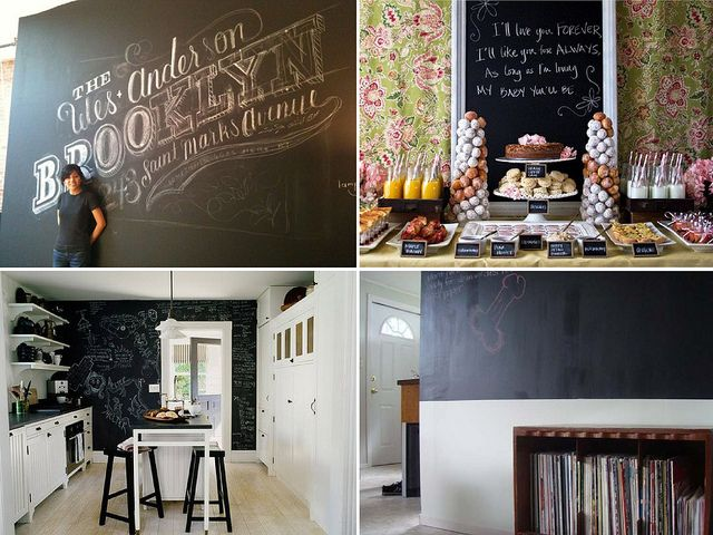 Best 25 Blackboard Paint Ideas On Wall Pots And Chalk Holder