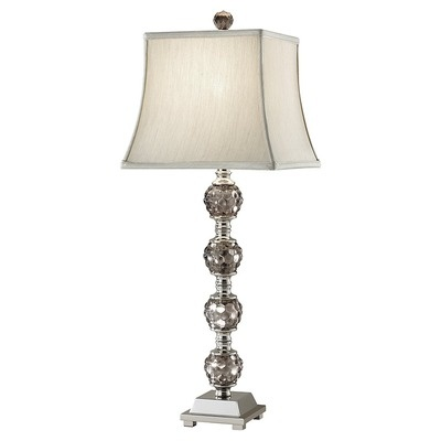 Murray Feiss Independents One Light Table Lamp in Polished Nickel