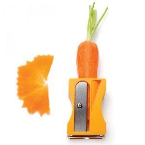 Taille-carotte, le taille-crayon à légumes