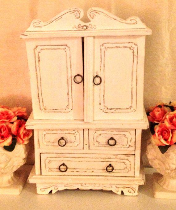 Antique Handmade Jewelry Box