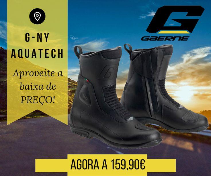O frio já aperta! Começar a pensar no que calçar quando anda de moto já começa a ser importante. Hoje apresentamos as BOTAS GAERNE G-NY AQUATECH || Estas Botas são ideias para que se possa movimentar com estilo e muito conforto! Agora por apenas 159,90€! Vá já a um agente próximo de si. #lusomotos #gaerne #botas #NY #Aquatech #andardemoto #estilodevida #viagens #conforto #segurança #qualidade