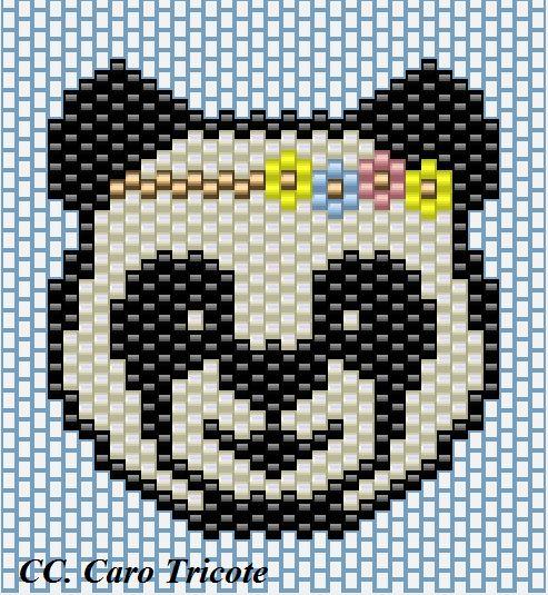 Grille panda miyuki