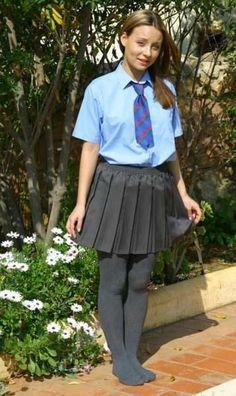 girls in grey school skirts  yahoo search results yahoo