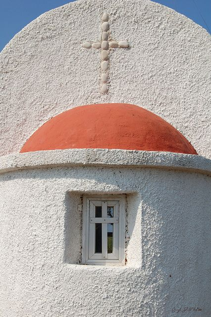 The small church on the headland between San Stefanos and Arrillas in North West Corfu.