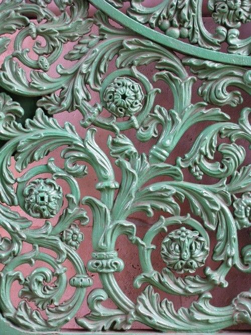 : Wrought Irons Gates, Green, Colors, Gardens Gates, Metals Gates, Irons Doors, Vintage Rose, Antique, Male