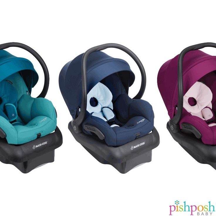 The bestselling @maxicosiusa Mico 30 has some new colors to choose from! See all the colors on our site - priced at $199.99.  http://www.pishposhbaby.com/maxi-cosi-mico-30-infant-seat.html