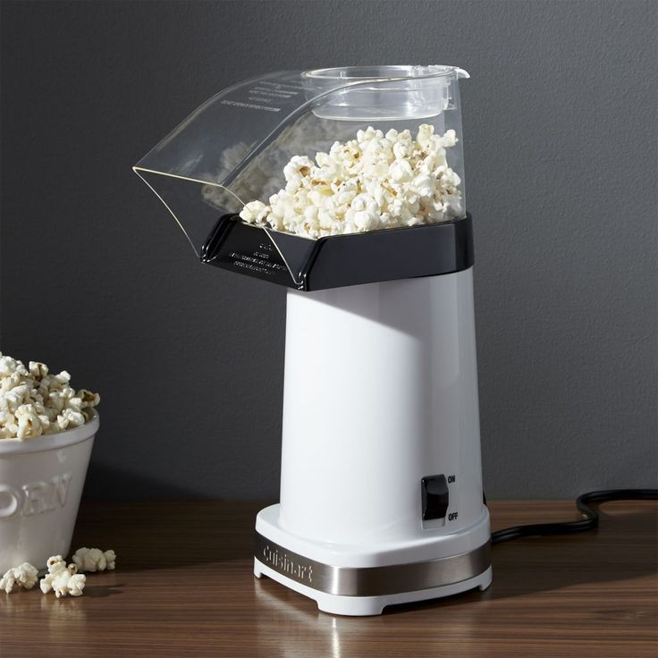 Cuisinart ® Hot Air Popcorn Maker - Crate and Barrel