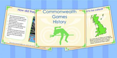 Preview: History of the Commonwealth Games Powerpoint