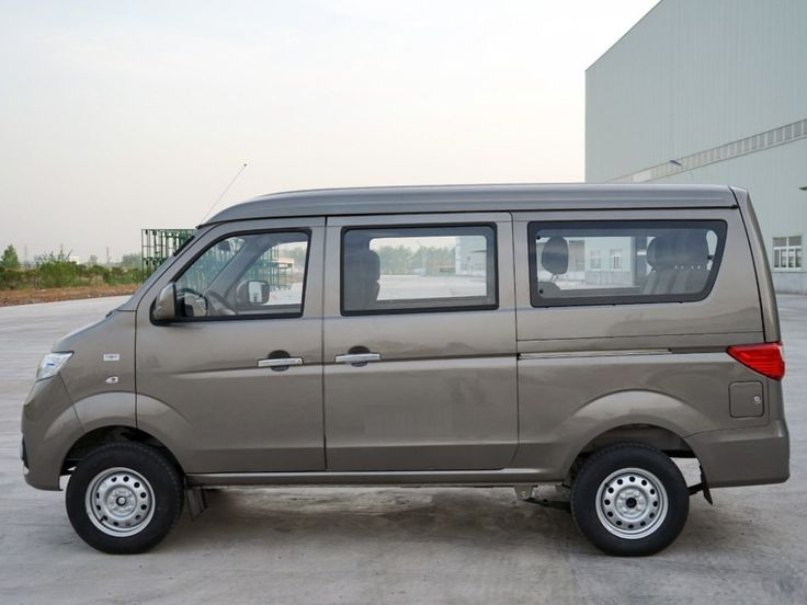 Chinese brand high speed 4m 7 seats new pure electric van