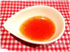 レンジで簡単!手作りスイートチリソース by まこりんとペン子 [クックパッド] 簡単おいしいみんなのレシピが273万品