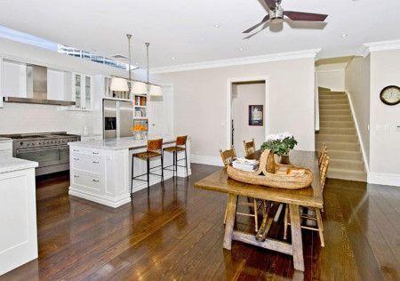 Floorboards Country Kitchen Dining Kitchen Design - Kitchen