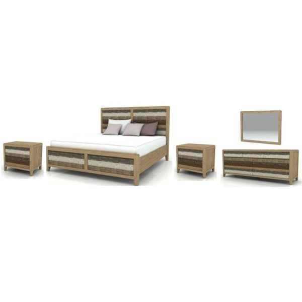 Bahamas – Queen Bed, 2 x 2 Drawer Bedside Tables, 7 Drawer Dresser & Mirror – Acacia/Cosmo. For more information Please take a moment to visit our website : http://www.furniture2you.com.au/