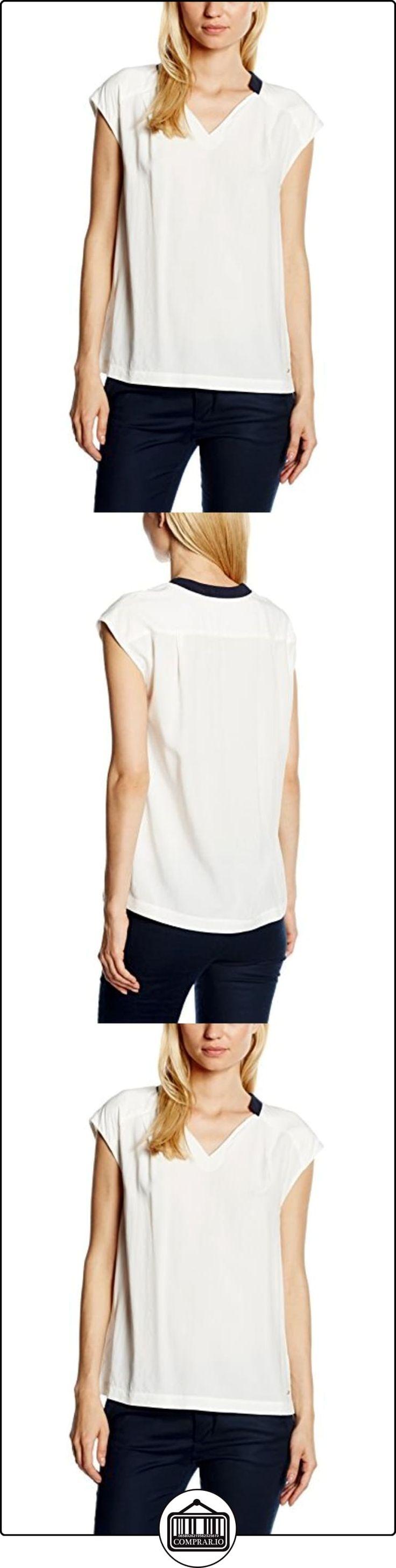 Tommy Hilfiger Keila Viscose Top Ns, Blusa para Mujer, Blanco, 38  ✿ Blusas y camisas ✿