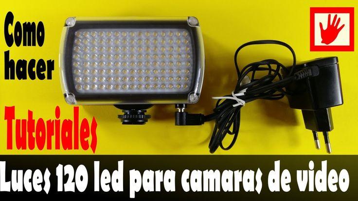 Lampada LED per Video e Foto  alimentazione con tensione di rete e batte...
