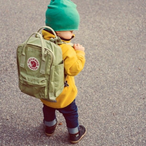 Mini Kankens are $39 (reg $55) so actually there's no reason for your kid not to look this cute. Loving that moss color for the little men out there! (at www.johans-son.com)