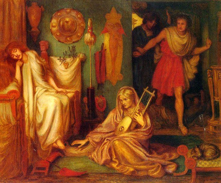 Rossetti%2C+Dante+Gabriel+1828-1882+Il+ritorno+di+Tibullo+da+Delia+1868.jpg (1200×992)