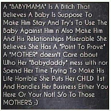 Baby Mamma Drama Quotes That I Love Baby Momma Quotes