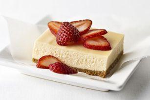 PHILADELPHIA New York-Style Sour Cream-Topped Cheesecake Recipe