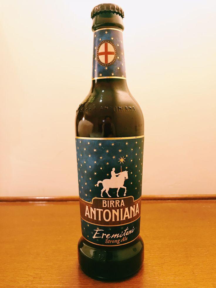 BIRRA ANTONIANA Eremitani English Strong Ale Alc 6.3%