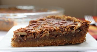 Low Carb Thanksgiving: Pecan Pie (Gluten Free) | Living Low Carb One Day At A Time