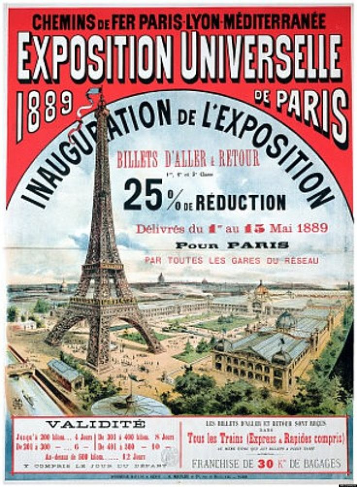 French Advertising Poster Sign Paris 1893 Feast Fete