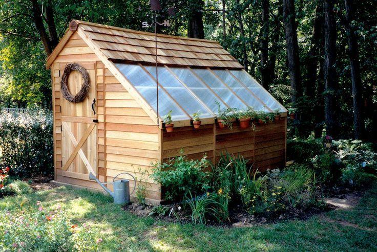 Sunhouses – Western Red Cedar Greenhouses – #Bacafleurspourl'ete #Havredepaixjar…