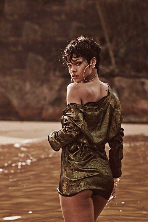 Rihanna for Vogue Brazil.