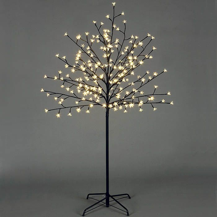 12 Best Images About Twig Christmas Trees With Lights On