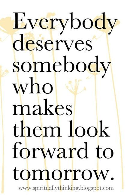 Everyone Deserves Someone...