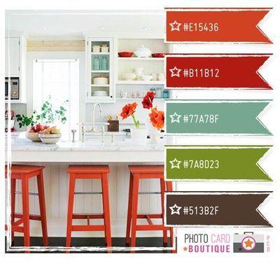 Color scheme for living room/kitchen