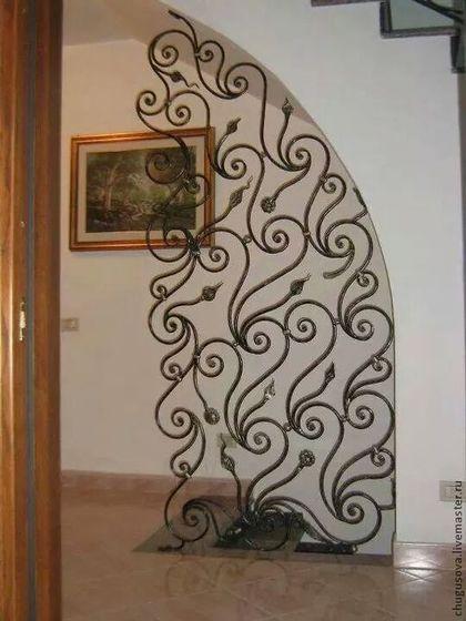 Ажурная акация - чёрно-белый,арка,двери,украшение для дома,украшение для интерьера