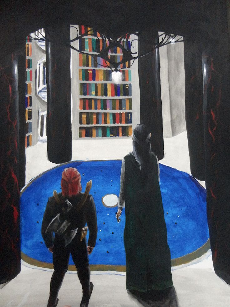 Entry 29: 'The Lost Library' by Brighid Walton, adult #fantasy #art
