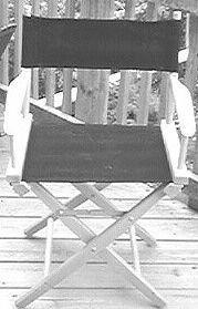 DIY Director's chair