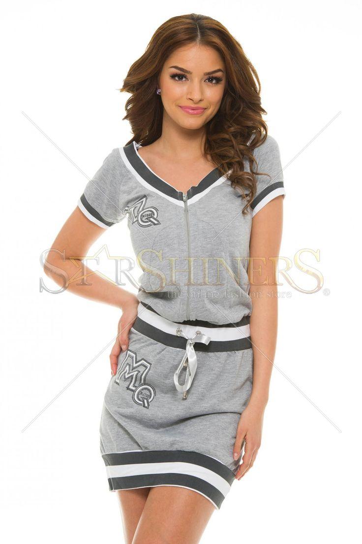 Rochie sport MissQ Trendy Athlete Grey - MuJeR.ro http://www.mujer.ro/rochie-sport-missq-trendy-athlete-grey