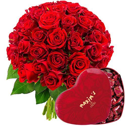 Nous avons imaginé et créé pour vous cette jolie brassée de roses d'un rouge intense. Cette charmante création florale sera le témoin de vos sentiments )à l'égard de votre âme sœur.Garanti sans huile de palme. Muni d'une boîte en métal rouge craquante, c'est le cadeau idéal pour les amoureux mais fera tout aussi plaisir à vos proches.