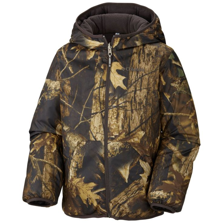 Columbia Big Boys' Dual Front Jacket, Timberwolf, Large. Omni-shield advanced repellency. Faux down insulation. Reversible. Imported. Faux down 150g, microfleece, microtex lite ii.