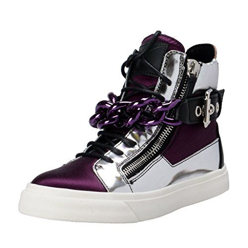 Giuseppe Zanotti Design Hi Top Fashion Sneakers Shoes US 10 IT 40;