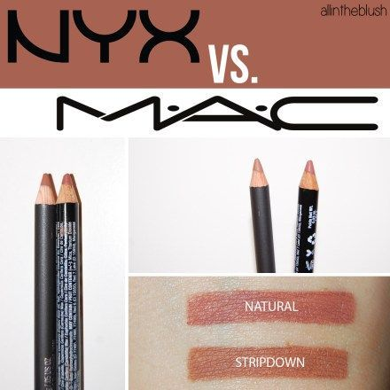 MAC Stripdown Dupe NYX Natural