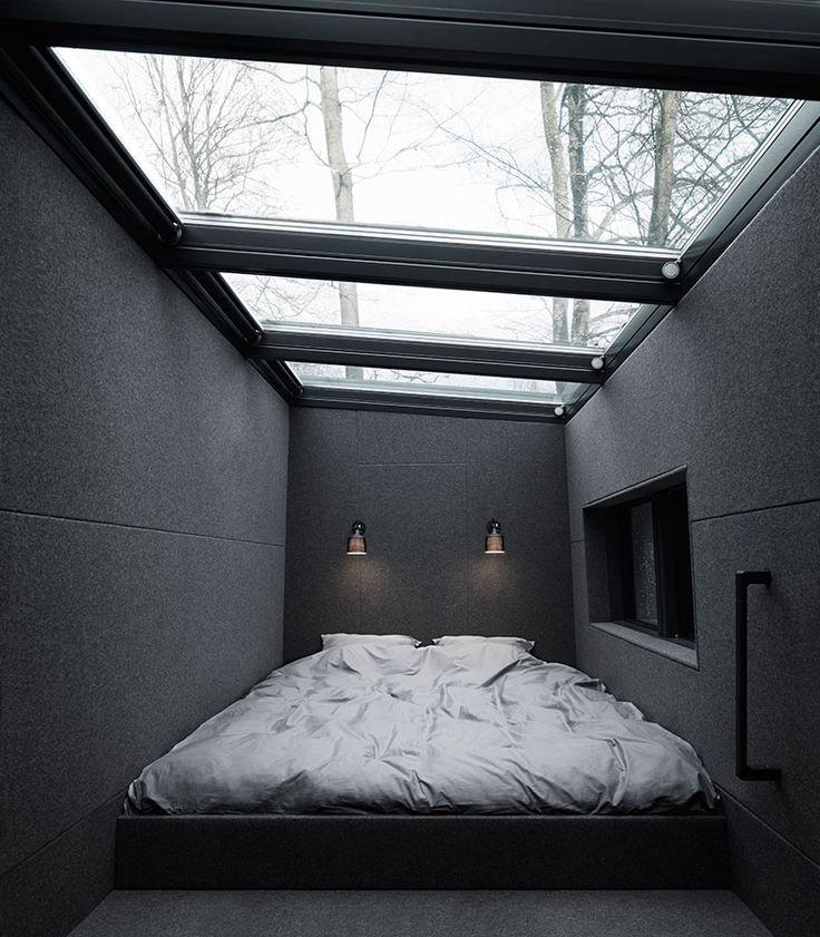 Vipp Shelter – Mezzanine Sleeping Area