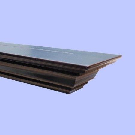 Amazon.com: Welland 60 Inch x 3.25 Inch x 5.25 Inch Corona Crown Molding Wall Shelf Espresso: Home & Kitchen