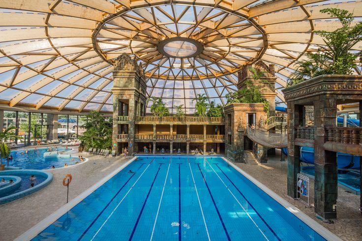 Swimming Pool in Aqwaworld #aquaworld #angkor #temple #aquapark #fun #adventure #chillout #budapest #hungary