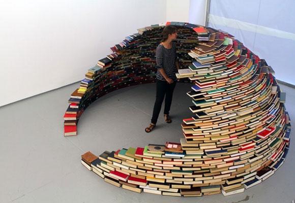 a book igloo