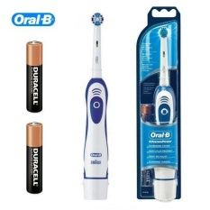 Oral-B Advance Power 400 แปรงสีฟันไฟฟ้า (White/Blue)