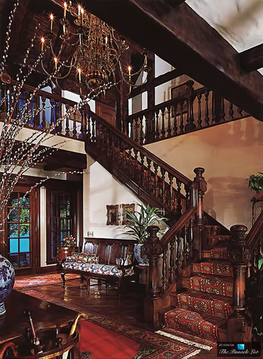 Stairway Entrance - Michael Jacksons Neverland Valley Ranch - 5225 Figueroa Mountain Road, Los Olivos, CA
